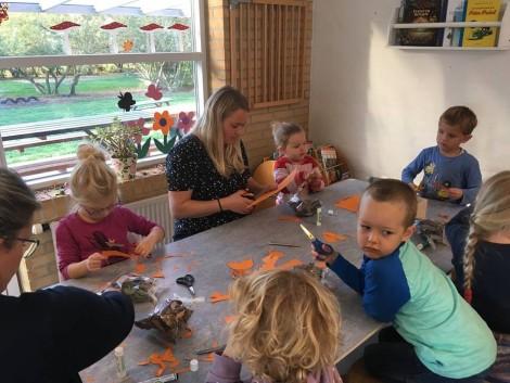 Klip og kreativ i Børnehus